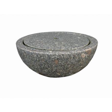 Granit Schalenbrunnen Viola, ø 50 cm