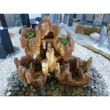 Wasserfallkaskade small, Komplettset, H 45 - 50 cm x B 40 - 45 cm x T 15 - 20 cm