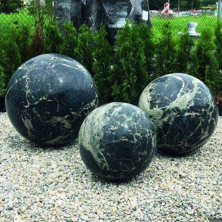 Granit-Kugel Yimeng Flower, ø 30 cm, 40 kg