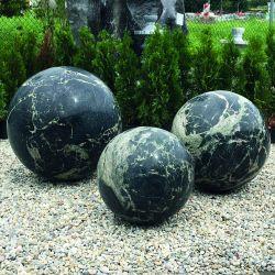 Granit-Kugel Yimeng Flower, ø 60 cm, 320 kg