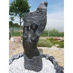 Skulptur - Wasserspiel Hilde, H 120 cm
