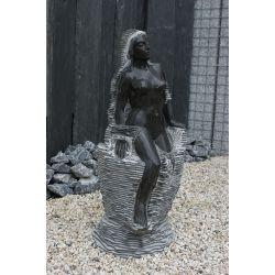 Skulptur - Wasserspiel Moni, H 110 cm