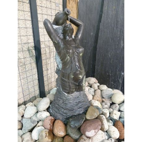 Skulptur - Wasserspiel Tine, H 100 cm