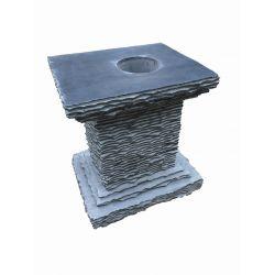 Sockel für Black Beauty, H 50 x B 43 x T 34 cm
