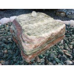Artic Sun Findling, 300-400 mm, 32 mm gebohrt, Quellstein