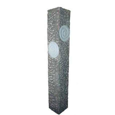 Limestone-Wasserspiel Lima, 30 x 30 x 200 cm