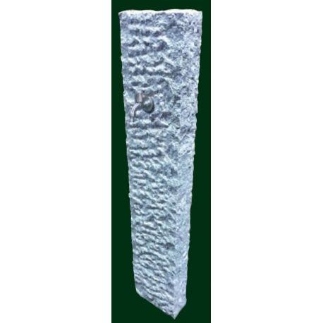 Granit - Versorgungssäule Derby, 125 x 25 x 10 cm