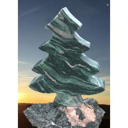 Baum aus Atlantis Naturstein mit Sockel H60 cm