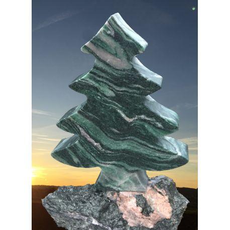 Weihnachtsbaum aus Atlantis Naturstein