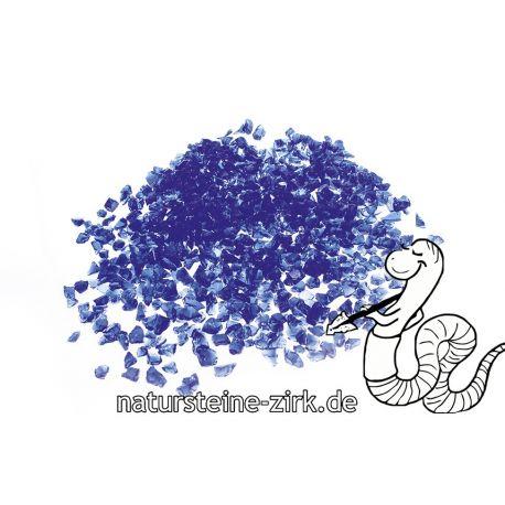 Glassplitt Blue Violet 5-10 mm BigBag 750 kg