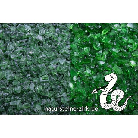 Glassplitt Green 5-10 mm BigBag 750 kg