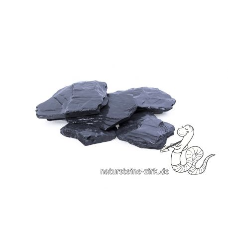 Canadian Slate schwarz 80-200 mm BigBag 750 kg