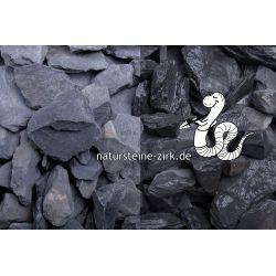 Canadian Slate schwarz 30-60 mm Sack 20 kg bei Abnahme 25-49 Sack