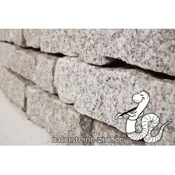 Granit Mauersteine, 10-20-40 Palette 500 kg