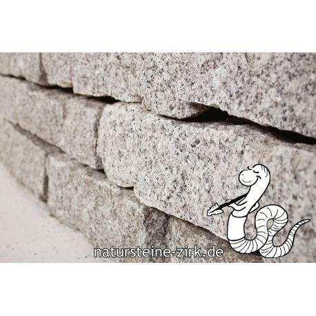 Granit Mauersteine, 10-20-40 Palette 750 kg