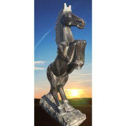 Limestone-Pferd H 190 cm