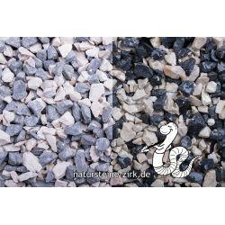 Zebrasplitt 8-11 mm Sack 20 kg bei Abnahme 10-24 Sack