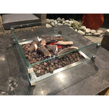 Schutzglas für Feuertisch Ätna/Pompeji/Fuego