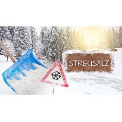 Streusalz 50 Sack a. 20 kg - Preis inklusive Lieferung