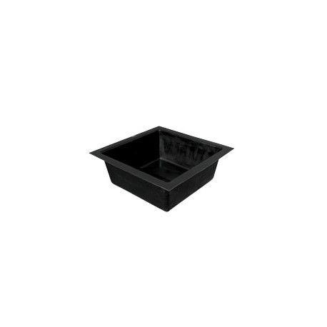 GFK-Becken eckig 100x100x35 cm