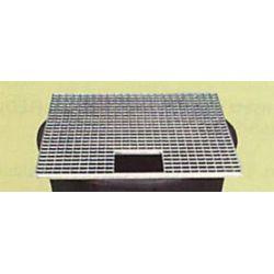 Gitterrost verzinkt 60x60 cm