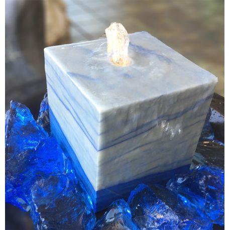 Azul Macauba Quellstein Würfel 2841