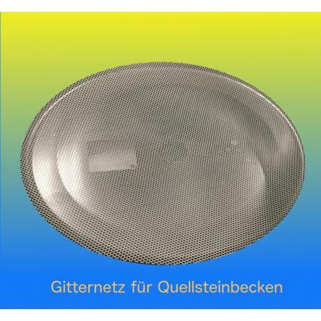 Gitternetz Kunstoff weiss für Deckel Becken D90 cm