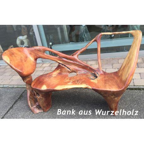 Wurzelholz Bank
