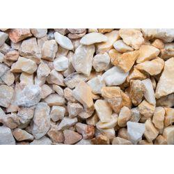 Kristall Gelb 16-22 mm Sack 20 kg bei Abnahme 50 Sack