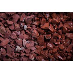 Red Jaspis Splitt 10-30 Sack 20 kg bei Abnahme 1-9 Sack