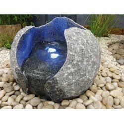 Granit-Wasserspiel Milano,  40 cm mit Zubehör-Set