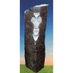 Basalt Stele Face S1518