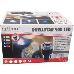 Quellstar LED Ring Seliger 9er mit Netzteil Zuleitung 10 m