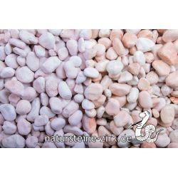 Rosa Corallo getr. 7-15 mm Sack 20 kg bei Abnahme 50 Sack