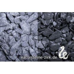Canadian Slate schwarz getr. 15-30 mm Sack 20 kg bei Abnahme 1-9 Sack