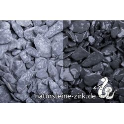 Canadian Slate schwarz getr. 15-30 mm Sack 20 kg bei Abnahme 50 Sack