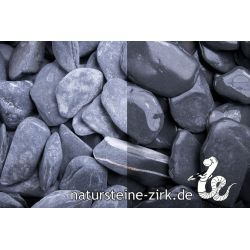 Canadian Slate schwarz getr. 30-60 mm Sack 20 kg bei Abnahme 10-24 Sack