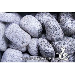 Gletscherkies Granit 40-60 mm Sack 20 kg bei Abnahme 10-24 Sack