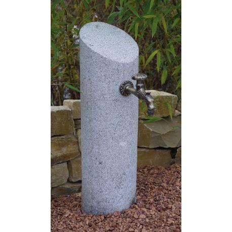 Wasserzapfstelle / Versorgungssäule Granit Brisbane H70 cm