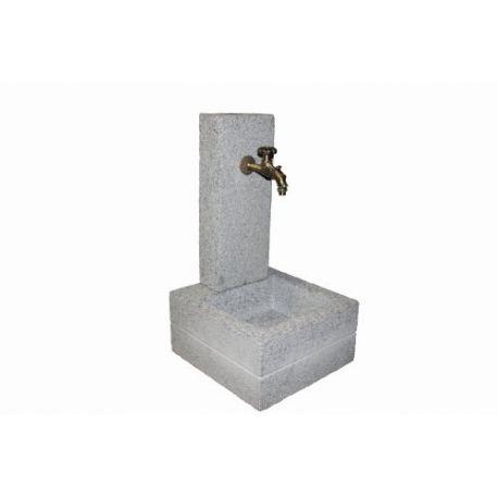 Wasserzapfstelle / Versorgungssäule Granit Sydney H90 cm