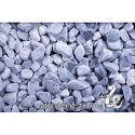 Kristall Blau getrommelt 8-16 mm