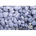 Kristall Blau 15-25 mm