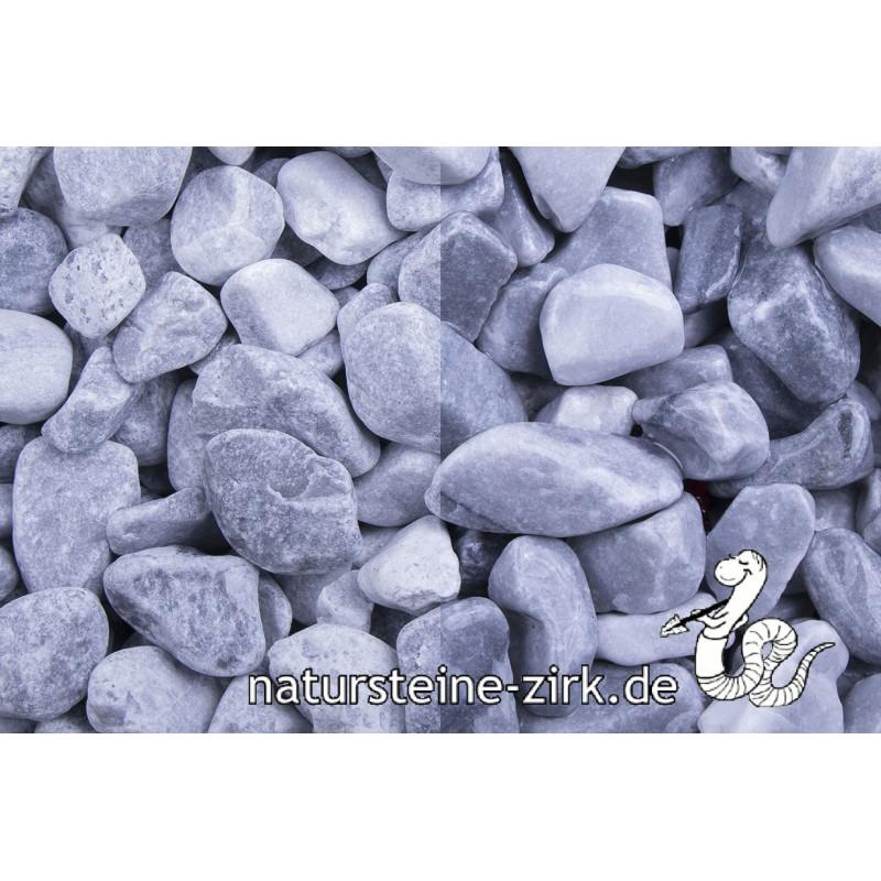 Kristall Blau getrommelt 25-40