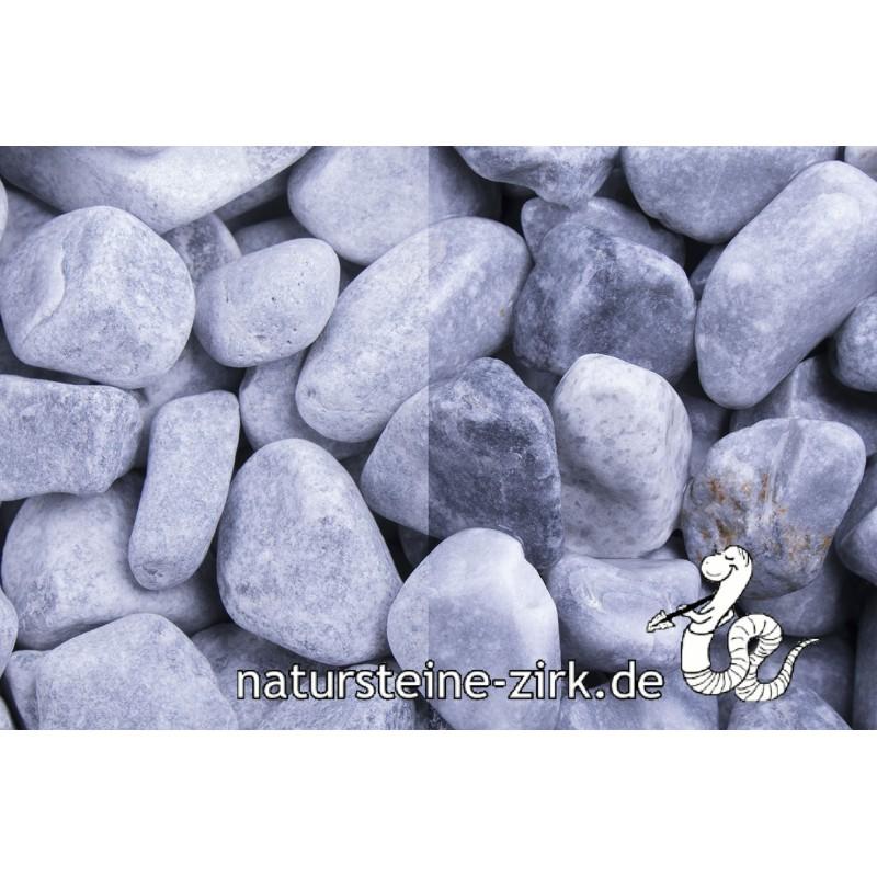 Kristall Blau getrommelt 40-60