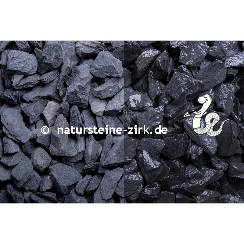 Canadian Slate Grün 1000kg Big Bag Schiefer Splitt Ziersplitt €0,25//kg