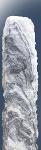 Cloudy Grey Monolith