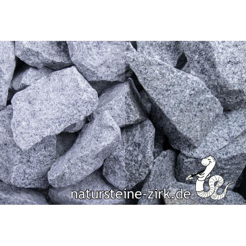 Granit Grau Steinschläge 32-56 mm