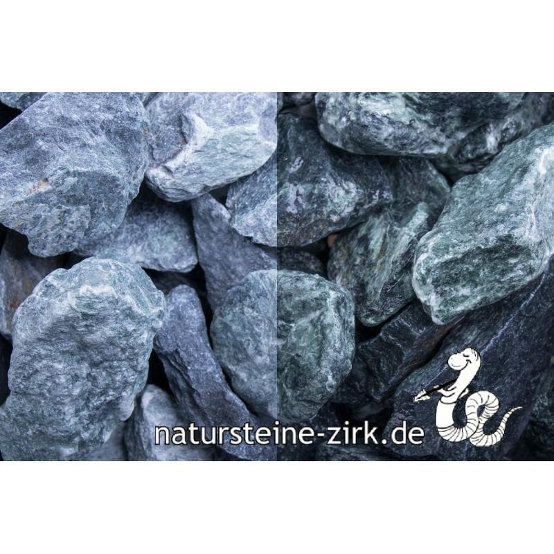 Marmor grün Steinschlag 40-80 mm