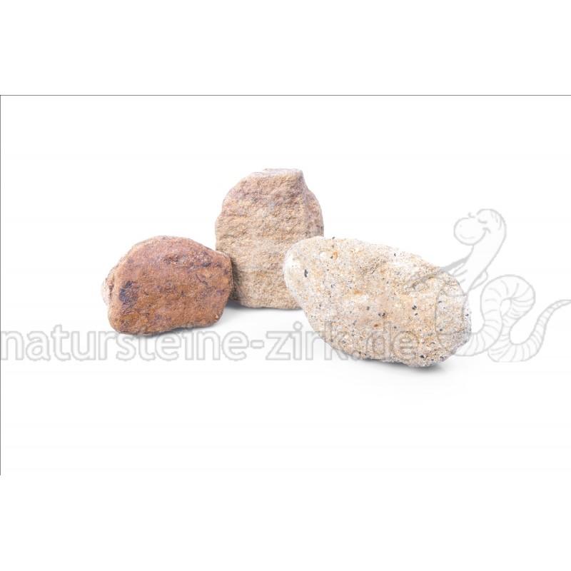 Sandstein gelb-grau GS 56-100 mm