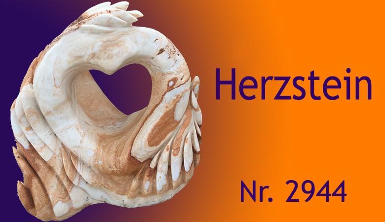 Ozean Findling Herzstein 2944